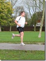 Richard J Green running Parkrun