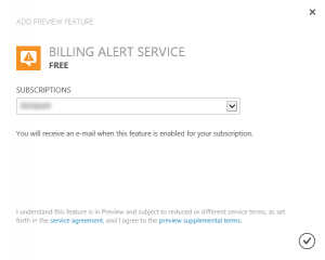 Adding Billing Alert Preview Feature