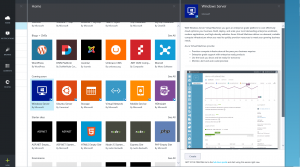 Azure Preview Portal Gallery