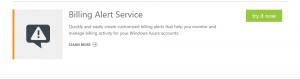 Billing Alert Service