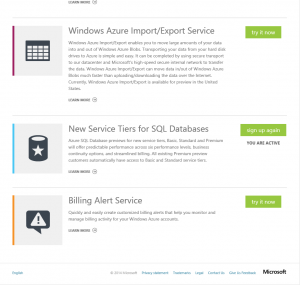 SQL New Tiers Active