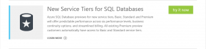 SQL New Tiers Try Now