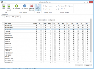 Microsoft EMET 4.1 Custom Apps