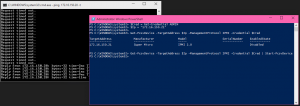 PowerShell Start-PcsvDevice Output