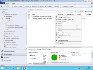 SCCM Client Update Distribution Points