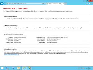 HTTP Error Downloading Delta CRL